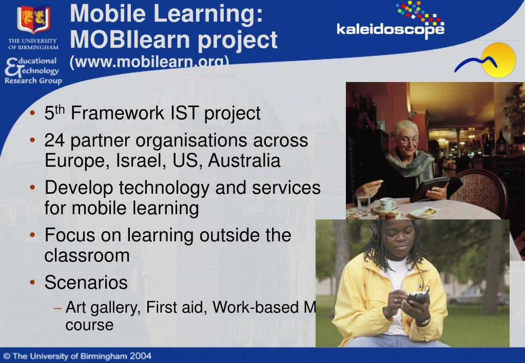 Mobile Learning: