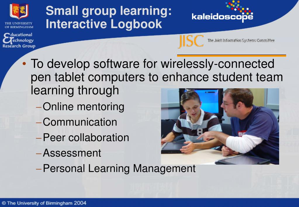 Small group learning: