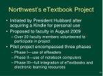 northwest s etextbook project