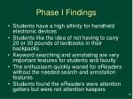 phase i findings16