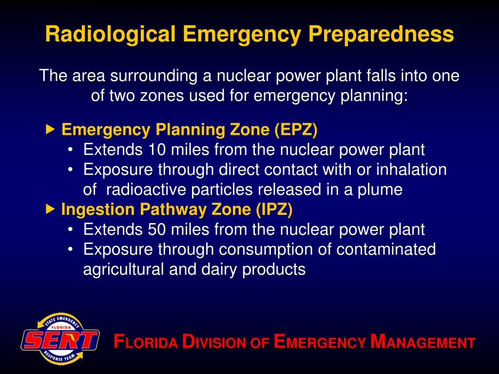 Radiological Emergency Preparedness