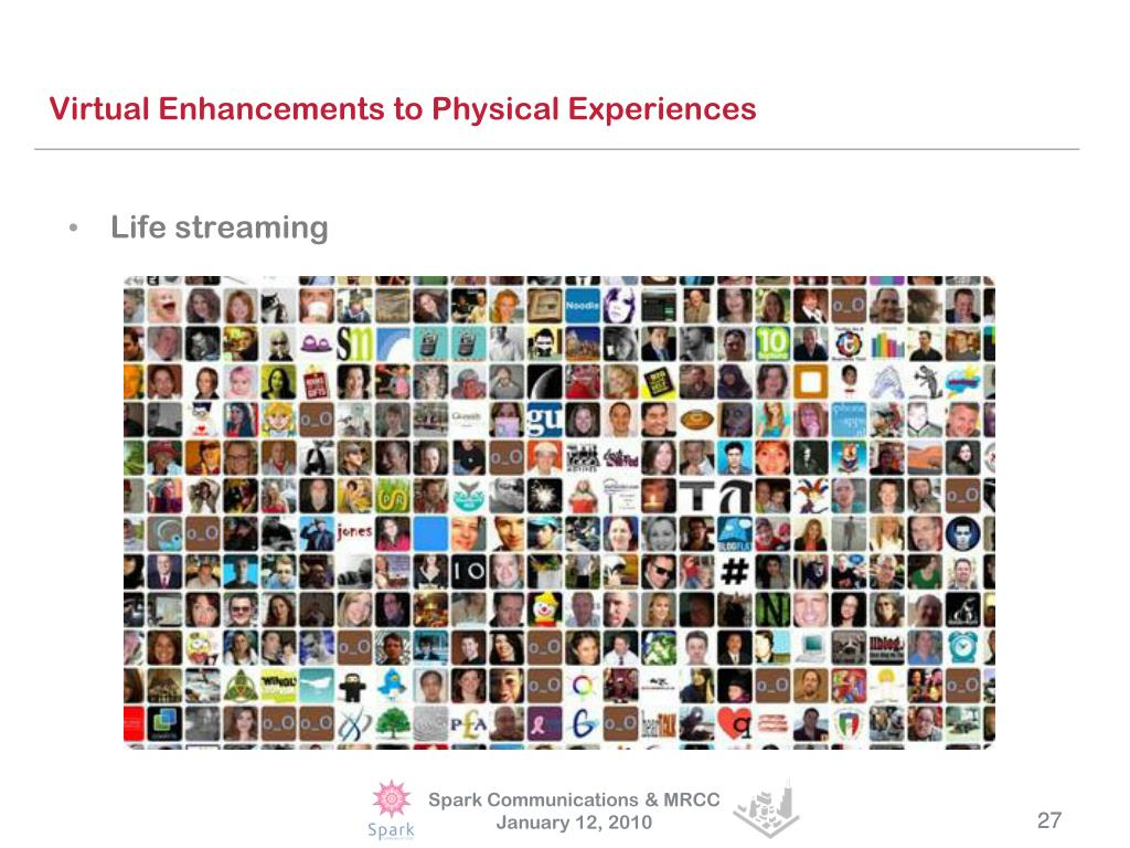 Virtual Enhancements to Physical Experiences