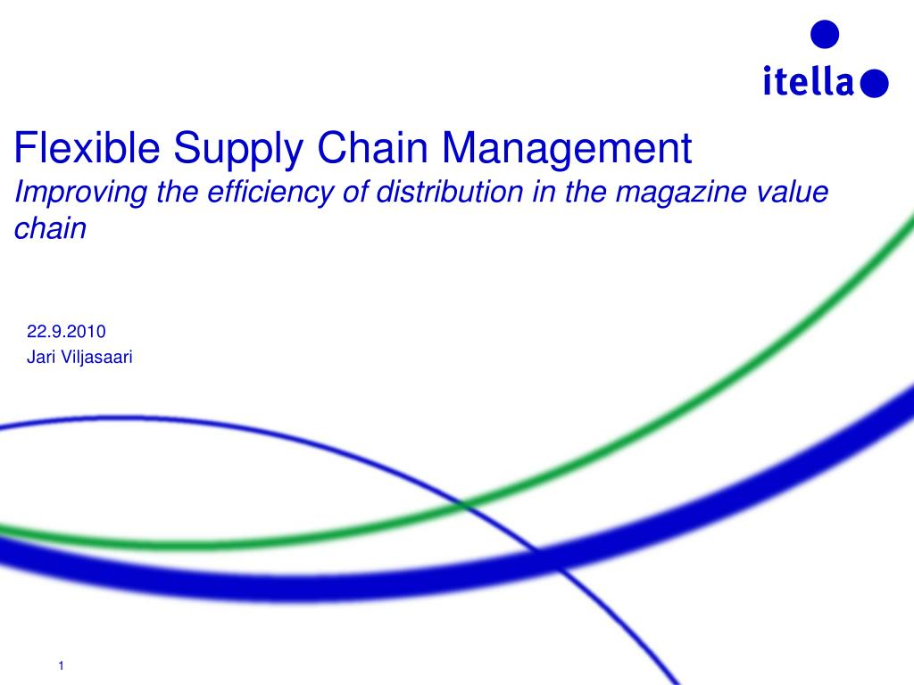 Flexible Supply Chain Management