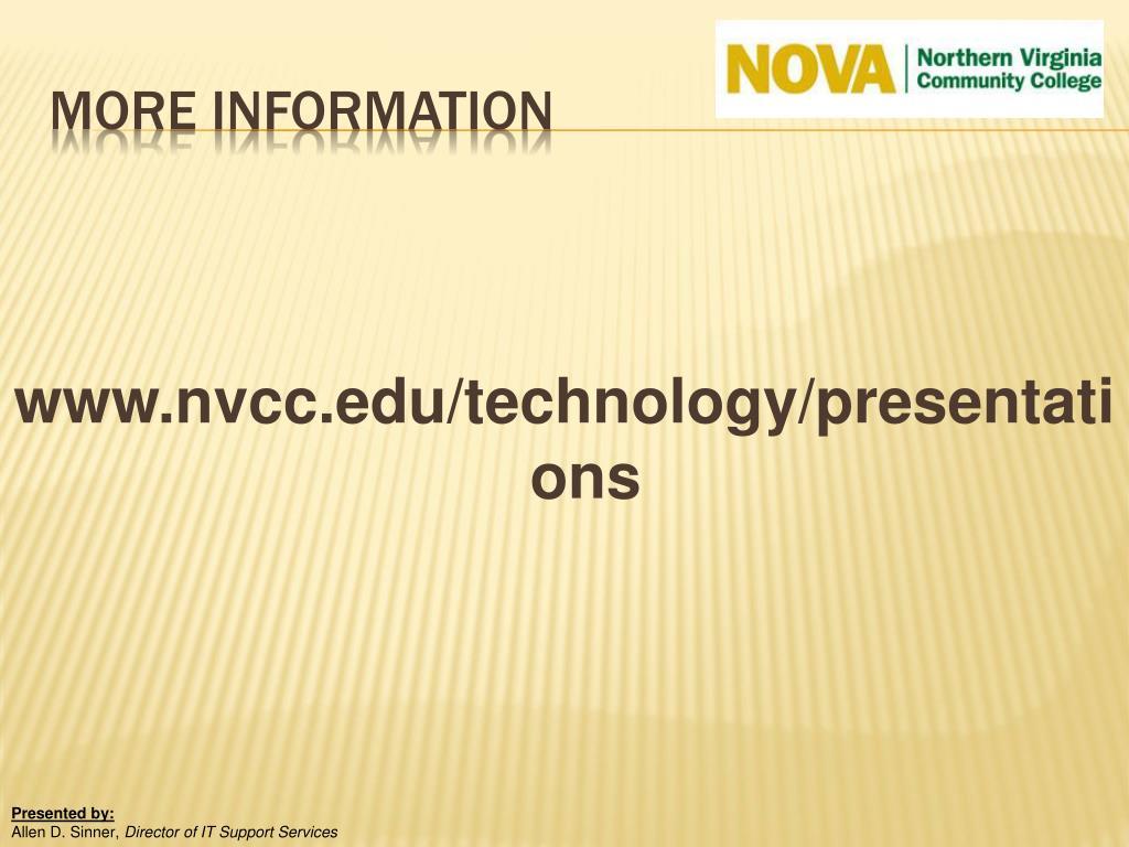 www.nvcc.edu/technology/presentations