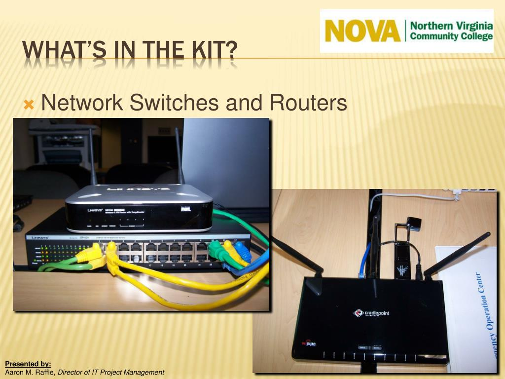 Network Switches and Routers
