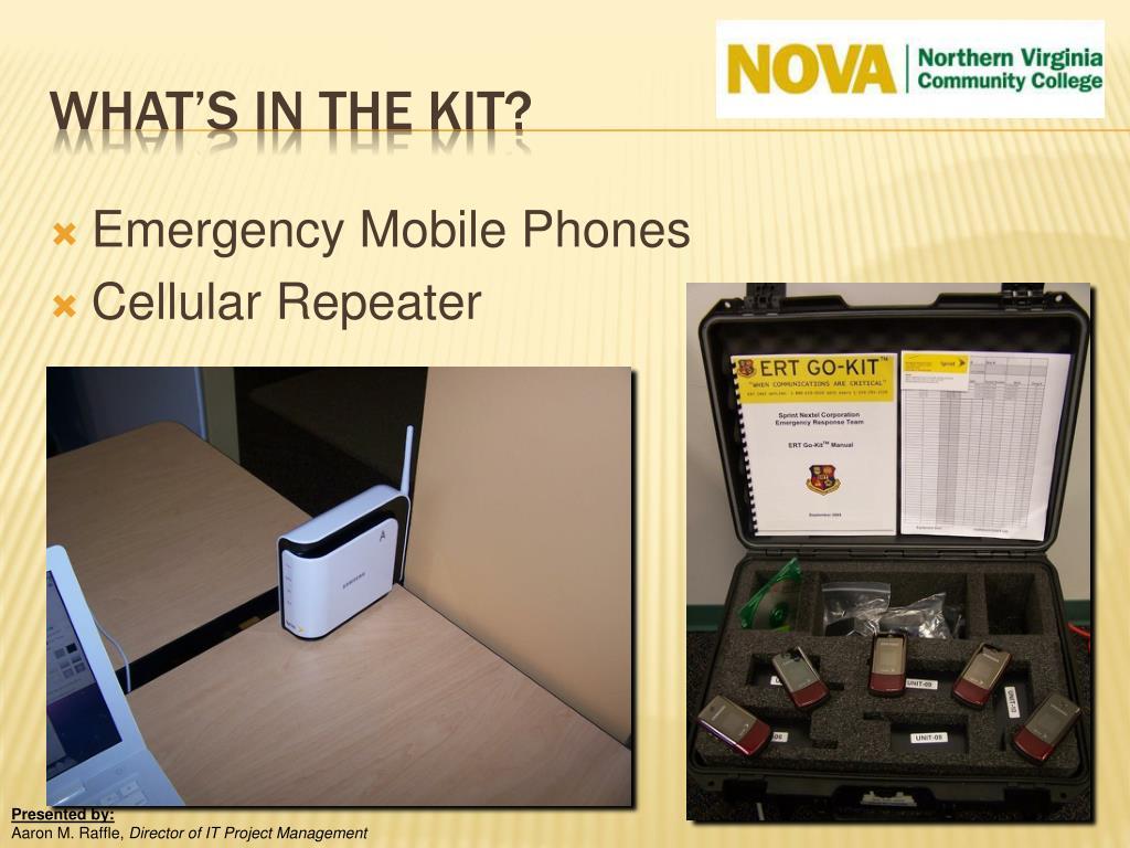 Emergency Mobile Phones