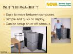 why eoc in a box