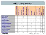 wimax usage scenarios