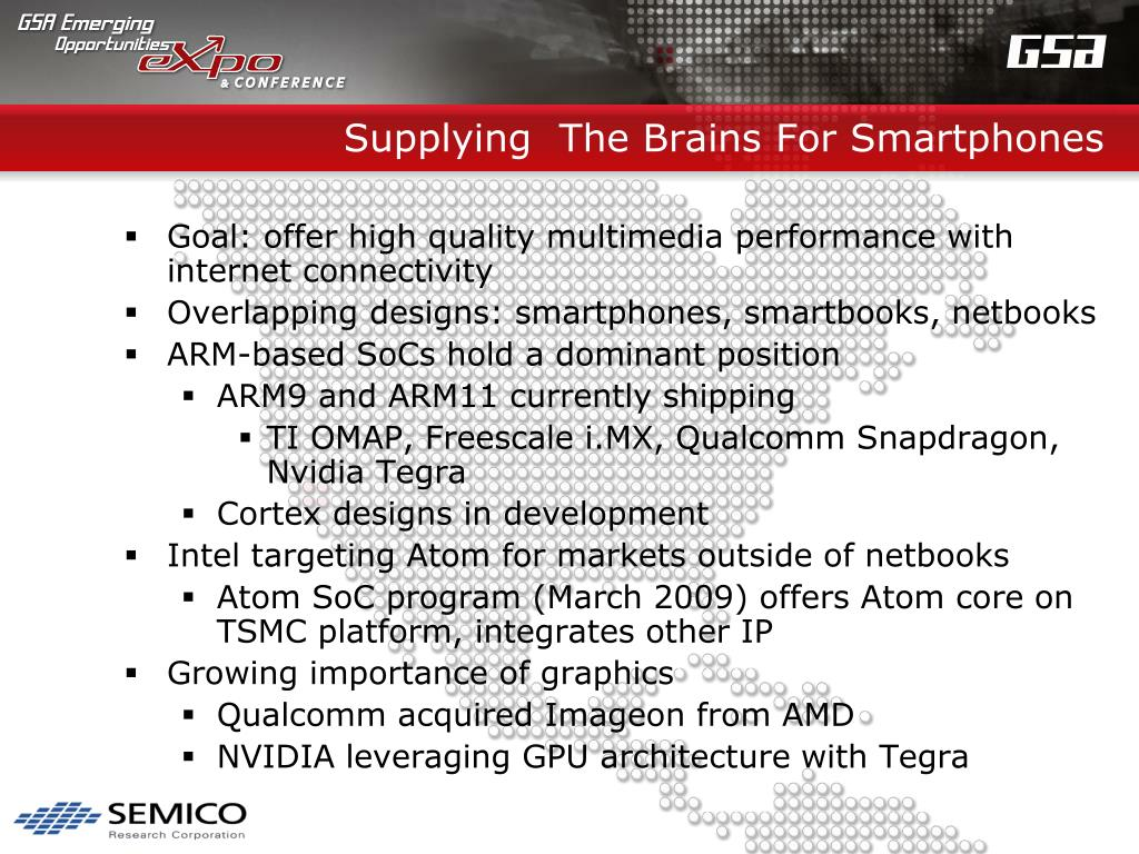 Supplying  The Brains For Smartphones