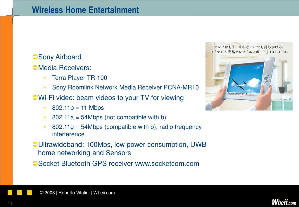 Wireless Home Entertainment