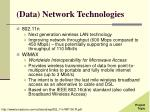 data network technologies30
