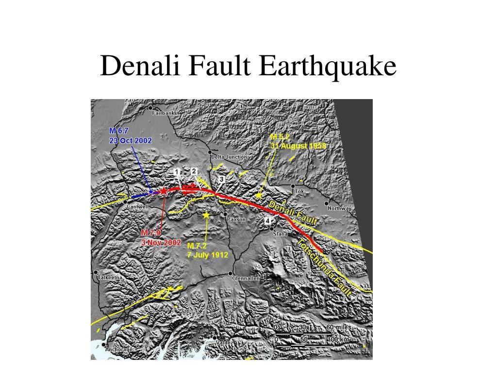 Denali Fault Earthquake