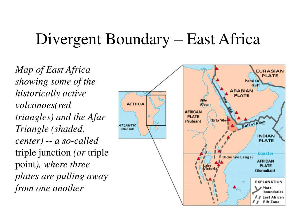 Divergent Boundary – East Africa