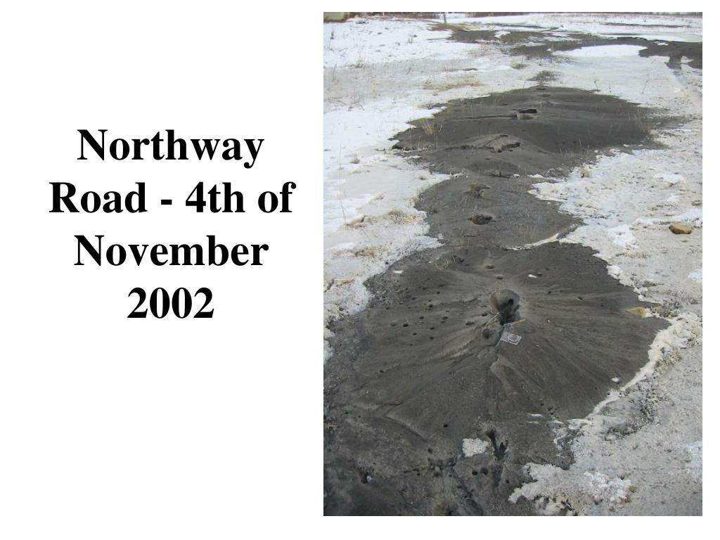 Northway Road - 4th of November 2002