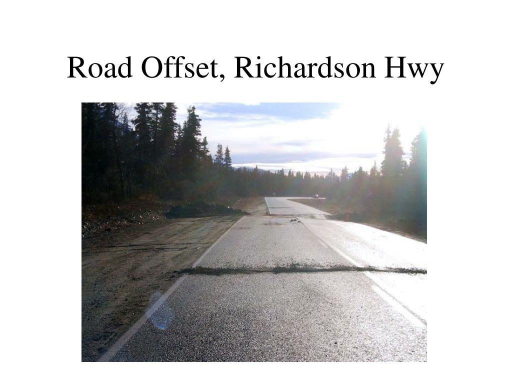 Road Offset, Richardson Hwy