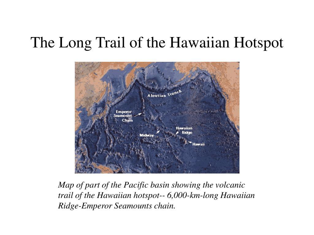 The Long Trail of the Hawaiian Hotspot