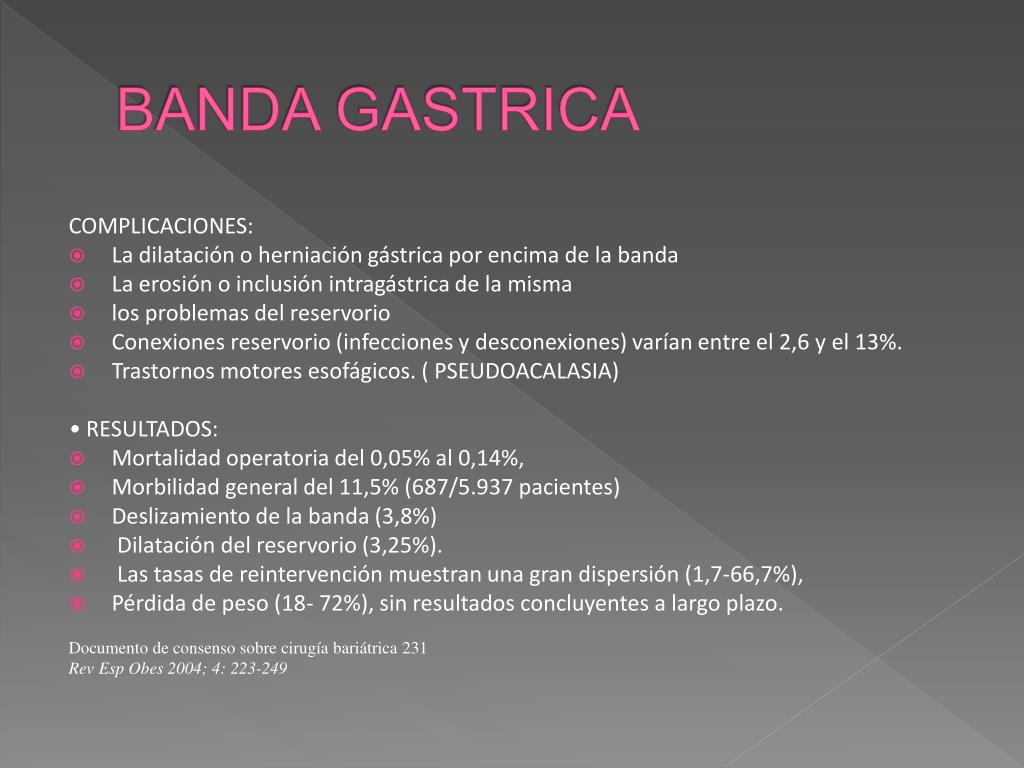 BANDA GASTRICA