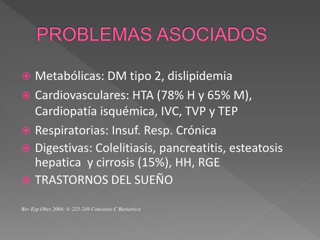 PROBLEMAS ASOCIADOS