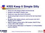 kiss keep it simple silly