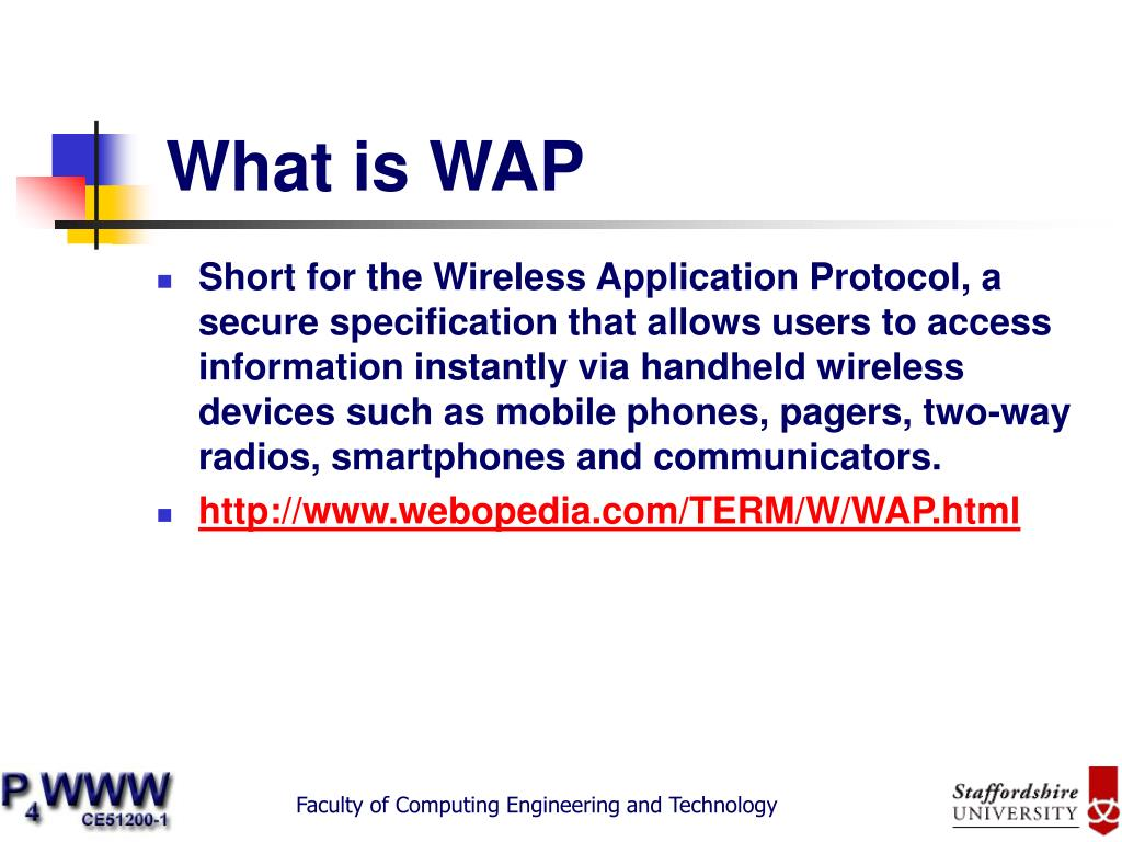 What is WAP