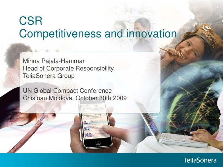 Csr competitiveness and innovation