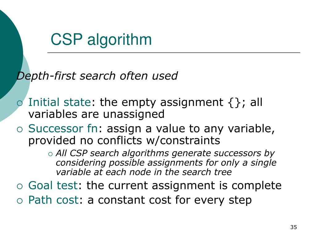 CSP algorithm
