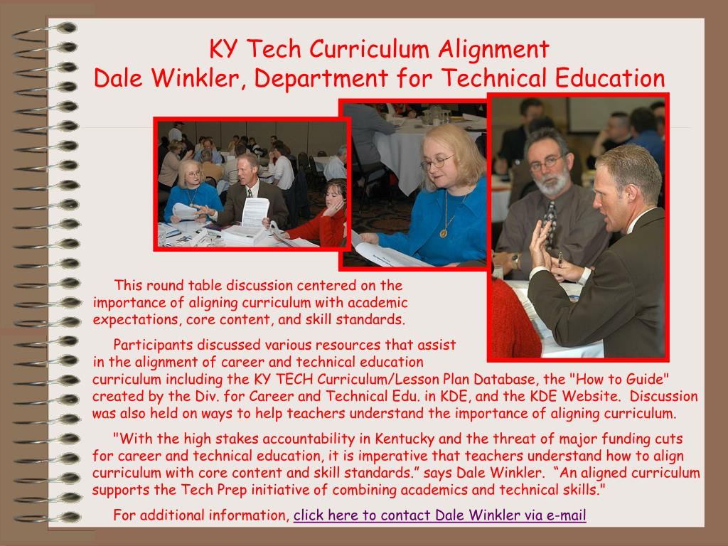 KY Tech Curriculum Alignment