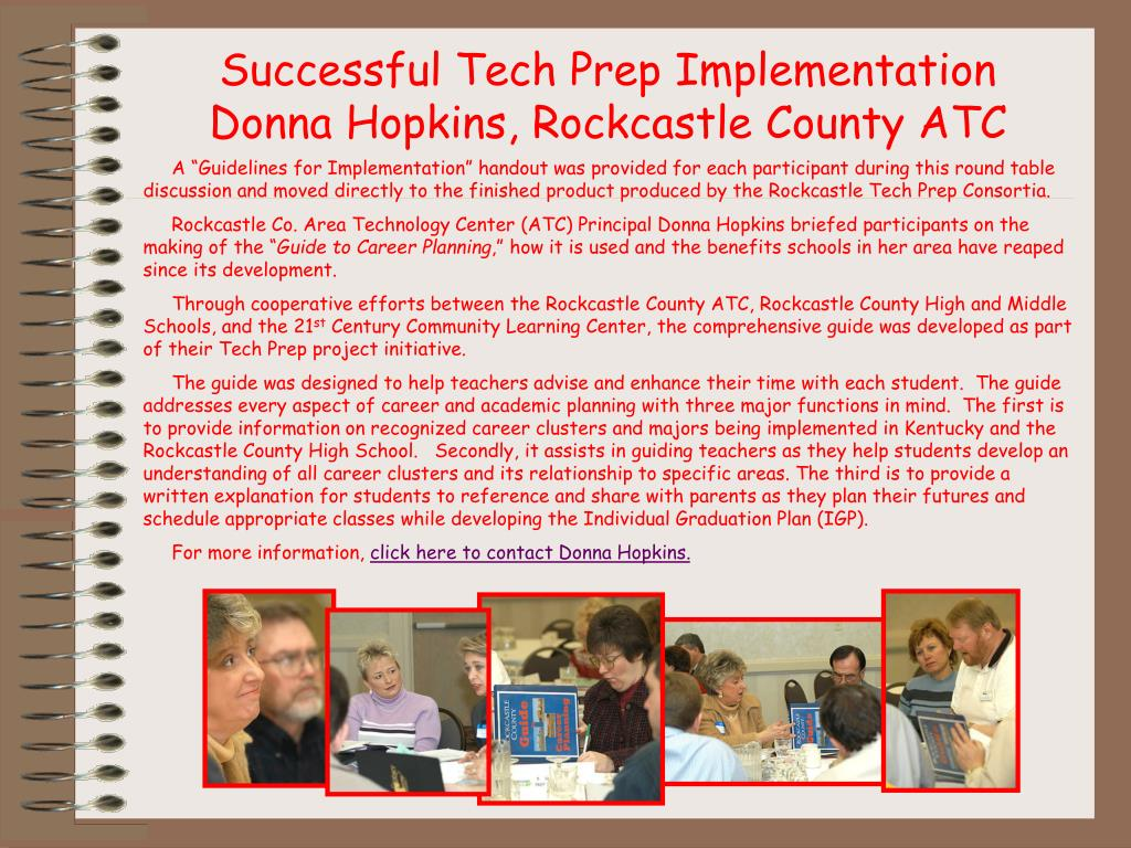 Successful Tech Prep Implementation