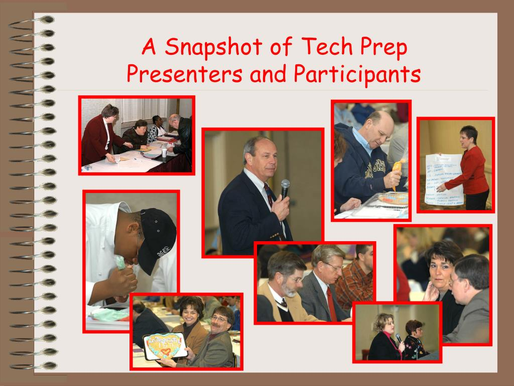 A Snapshot of Tech Prep Presenters and Participants