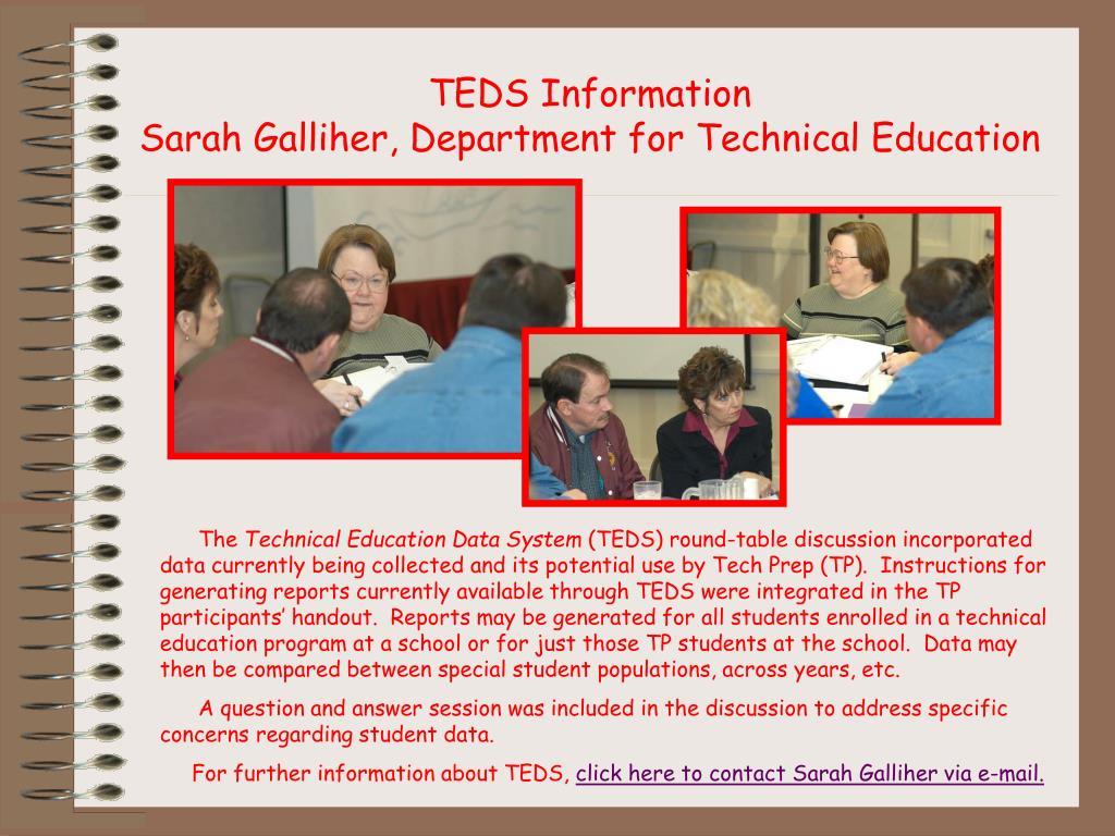 TEDS Information