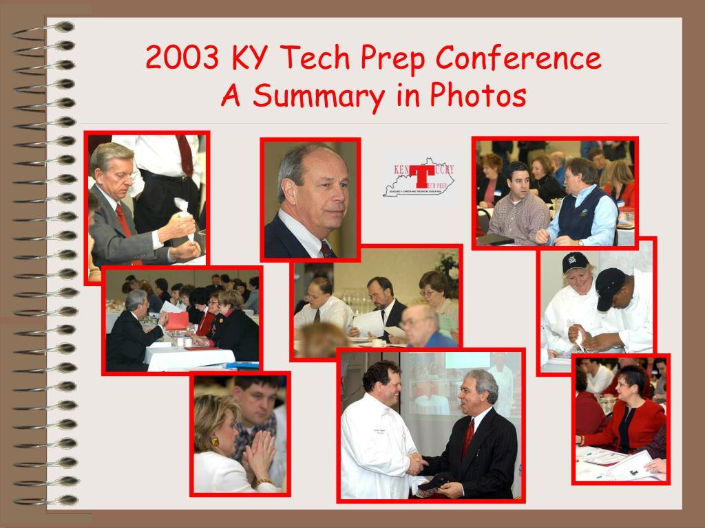 2003 KY Tech Prep Conference