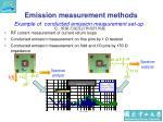 emission measurement methods