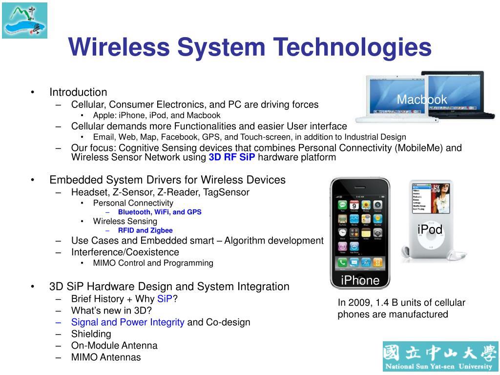 Wireless System Technologies