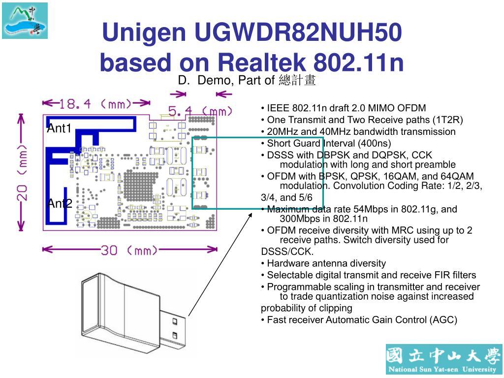Unigen UGWDR82NUH50