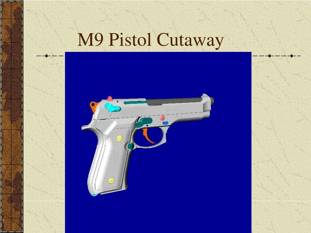 M9 Pistol Cutaway