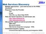 web services discovery53