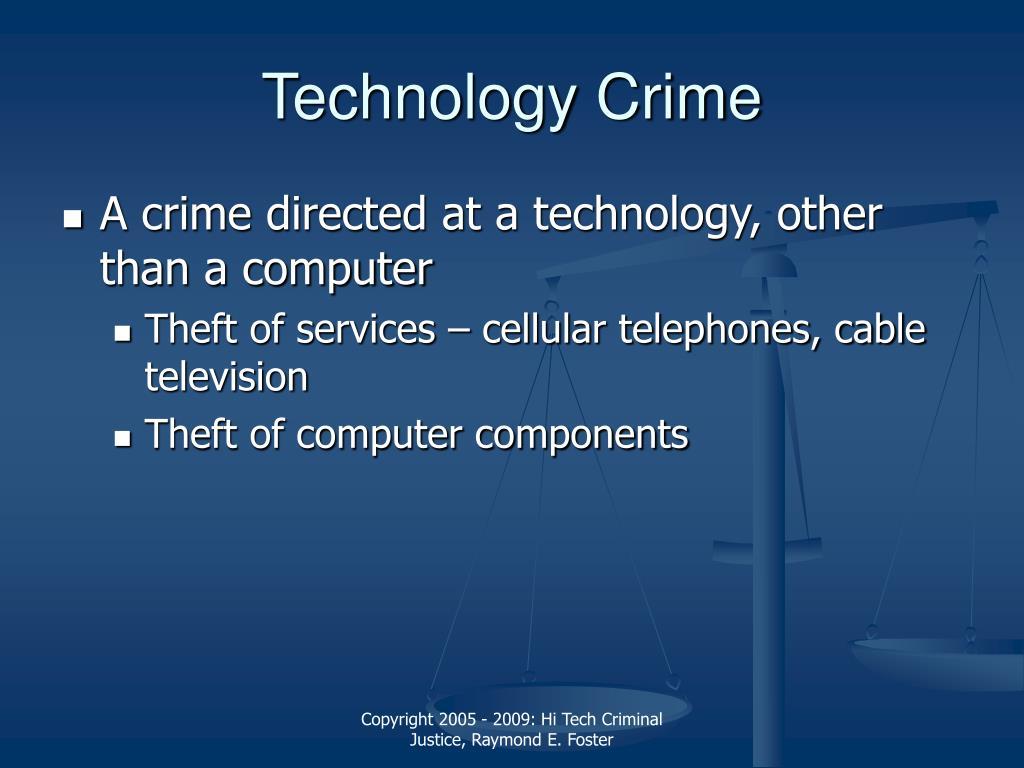 Technology Crime