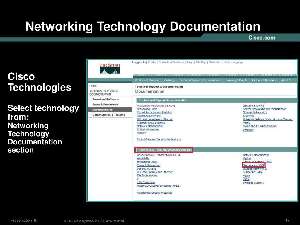 Networking Technology Documentation