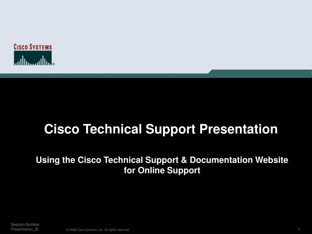 Using the Cisco Technical Support & Documentation Website for Online Support