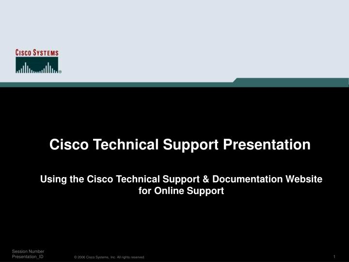 Using the cisco technical support documentation website for online support