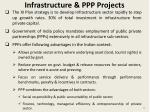 infrastructure ppp projects