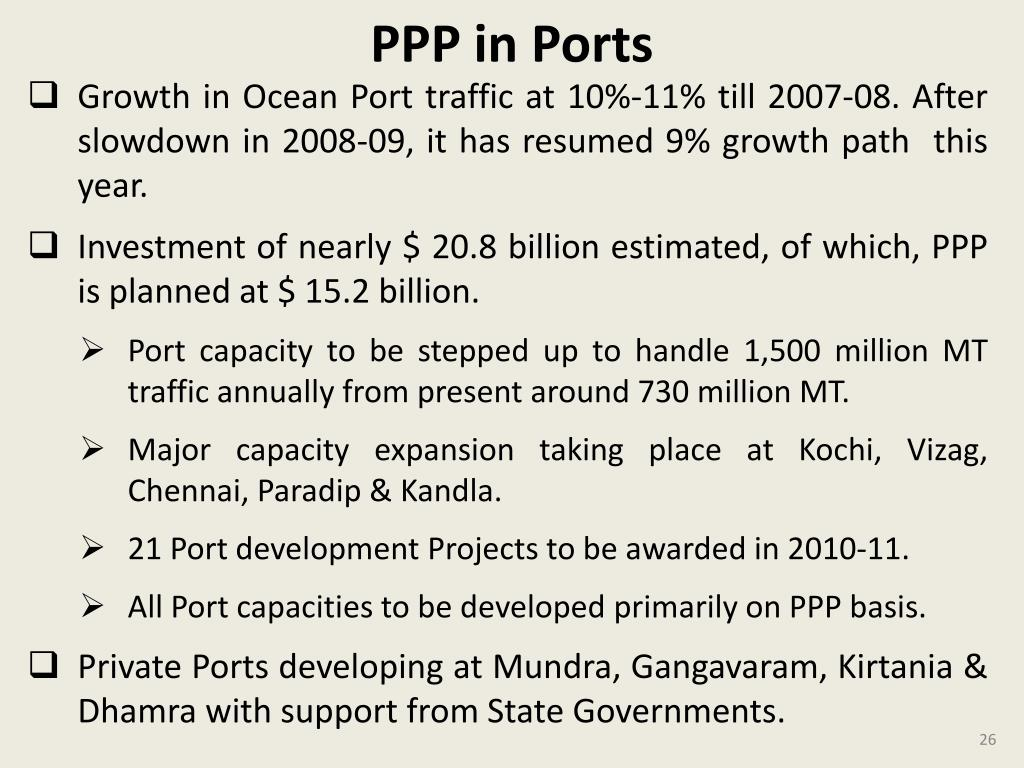 PPP in Ports