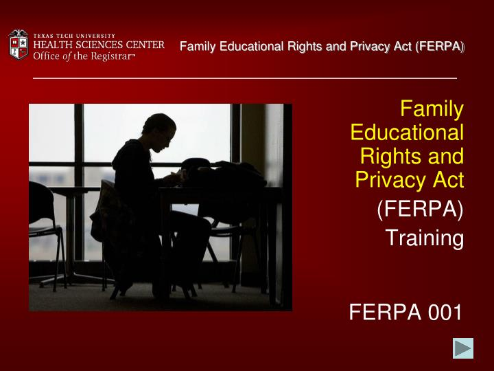 Family educational rights and privacy act ferpa l.jpg