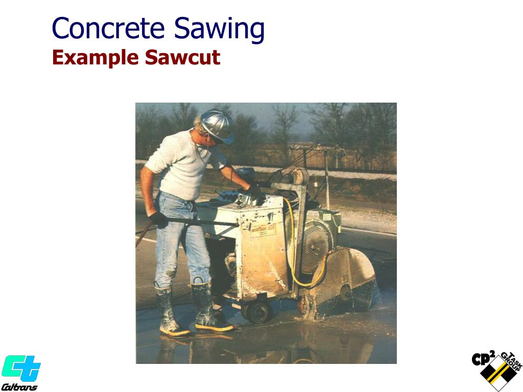 Concrete Sawing