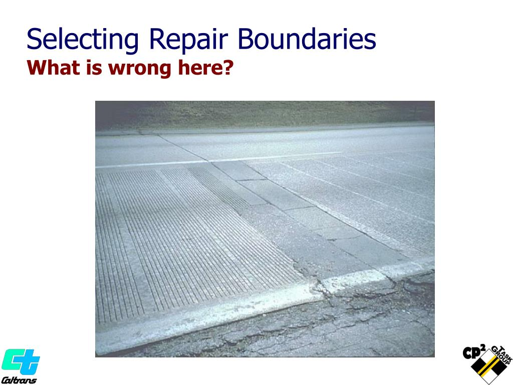 Selecting Repair Boundaries