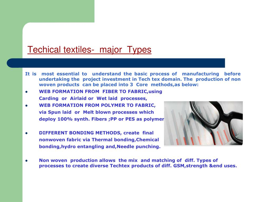 Techical textiles-  major  Types
