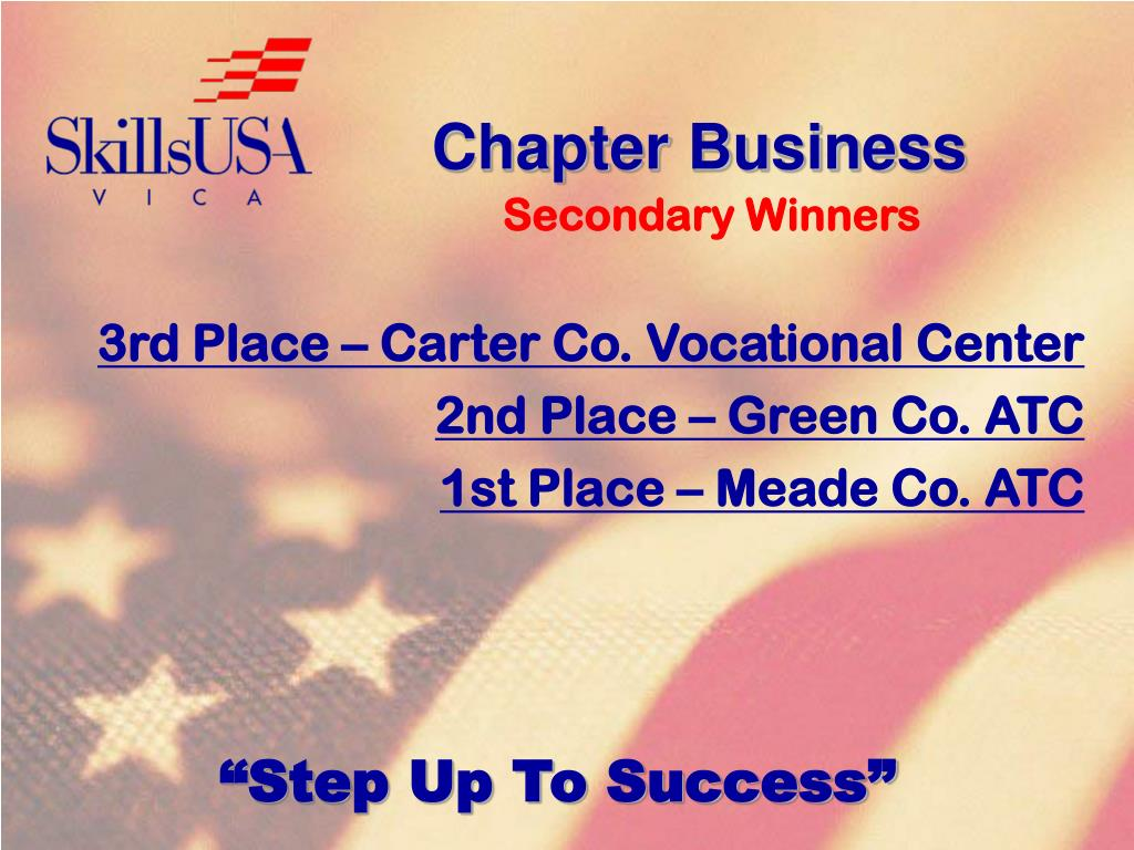 Chapter Business