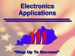 electronics applications