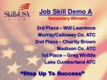 job skill demo a90