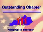 outstanding chapter